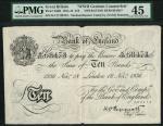Bank of England, Kenneth Oswald Peppiatt (1934-1949), an Operation Bernhard Sachsenhausen forgery of