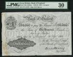 Bank of England, Ernest Musgrave Harvey (1918-1925), 」100, Liverpool 30 September 1918, serial numbe