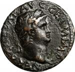 NERO, A.D. 54-68. AE As (10.45 gms), Rome Mint, ca. A.D. 65. NEARLY VERY FINE.