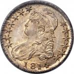 1814 Capped Bust Half Dollar. O-103. Rarity-1. MS-65 (PCGS). CAC. OGH--First Generation.