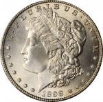 1898-S Morgan Silver Dollar. MS-65+ (PCGS).
