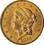 1873年自由帽双鹰 PCGS MS 61 1873 Liberty Head Double Eagle