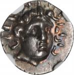 CARIA. Islands off Caria. Rhodes. AR Hemidrachm (1.43 gms), ca. 188-84 B.C.