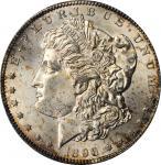 1896-S Morgan Silver Dollar. MS-64+ (PCGS).