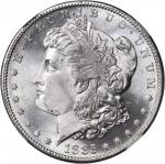 1885-S Morgan Silver Dollar. MS-65 (NGC).