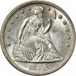 1850-O Liberty Seated Silver Dollar. MS-63 (PCGS).