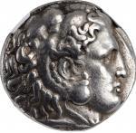 THRACE. Kingdom of Thrace. Lysimachos, 323-281 B.C. AR Tetradrachm (17.00 gms), Sardes Mint, ca. 299