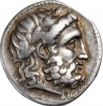 SYRIA. Seleukid Kingdom. Seleukos I Nikator, 312-281 B.C. AR Drachm (4.12 gms), Seleukeia on the Tig