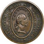 Circa 1829 C. Wolfe, Spies & Clark token. Musante GW-119, Baker-590, Rulau-E NY 959. Brass. Plain Ed
