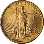 1914-D Saint-Gaudens Double Eagle. MS-66 (PCGS).