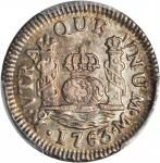 MEXICO. Real, 1763-MoM. PCGS MS-65 Secure Holder.