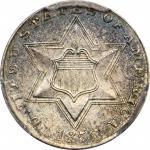 1856 Silver Three-Cent Piece. MS-66 (PCGS).