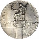 Sweden. 1912 Olympic Games, Stockholm, Participation Medal. Zinc. 50.2 mm. Gad-1912-2. About Uncircu