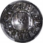 GREAT BRITAIN. Kings of Wessex. Penny, ND (ca. 880-899). Canterbury Mint. Alfred the Great (871-899)