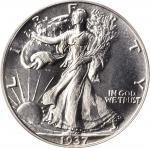 1937 Walking Liberty Half Dollar. Proof-66 (PCGS). CAC. OGH.