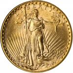 1910 Saint-Gaudens Double Eagle. MS-65 (NGC).