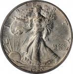 1920-D Walking Liberty Half Dollar. MS-64 (PCGS).