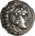 MACEDON. Kingdom of Macedon. Alexander III (the Great), 336-323 B.C. AR Tetradrachm (16.99 gms), Amp