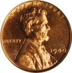 1940 Lincoln Cent. Proof-65 RD (NGC). OH.