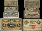 El Banco Espanol/La Republica de Cuba, 5 Centavos (3), 10 Centavos (3), 20 Centavos (2), 50 Centavos