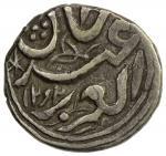 SINKIANG: Ya39qub Beg, 1864-1877, AR frac12 miscal 405 fen41 401。83g41, Kashghar, AH12921292, Y-37-1