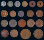 11640   民国铜圆一组二十枚