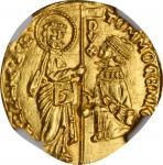 ITALY. Venice. Ducat, ND (1414-23). Tomaso Mocenigo. NGC MS-67.