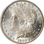 1880-CC Morgan Silver Dollar. MS-66+ (PCGS).