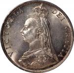 Great Britain, silver florin, 1887, Jub Head,(S-3925). PCGS MS64, #35853181.