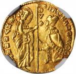 ITALY. Venice. Ducat, ND. Bartolomeo Gradenigo (1339-42). NGC AU-58.