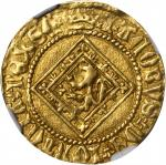 SCOTLAND. Demy, ND. James I (1406-37). NGC AU-55.