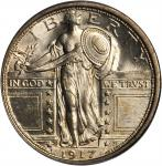 1917-S Standing Liberty Quarter. Type I. MS-65 FH (PCGS).