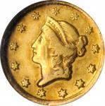 1849-D Gold Dollar. AU-53 (NGC).