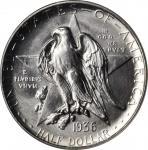 1936-S Texas Independence Centennial. MS-66 (NGC).