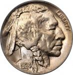 1924-D Buffalo Nickel. MS-65 (PCGS). CAC. OGH.
