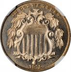 1871 Shield Nickel. Proof-67 Cameo (NGC).
