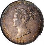 ITALY. Parma. 5 Lire, 1815. NGC MS-63.