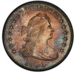 1806 Draped Bust Quarter. Browning-10. Rarity-5. Mint State-64 (PCGS).PCGS Population: 10, 4 finer (