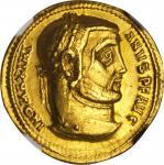 MAXIMIAN, A.D. 286-310. AV Aureus (5.40 gms), Serdica Mint, ca. A.D. 306-305. NGC AU, Strike: 5/5 Su