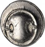 BOEOTIA. Thebes. AR Stater (12.25 gms), ca. 363-338 B.C. NGC Ch AU, Strike: 4/5 Surface: 4/5.