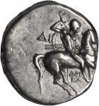 ITALY. Calabria. Tarentum. AR Didrachm, ca. 281-240 B.C.NGC Ch VF.