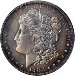 1883 Morgan Silver Dollar. Proof-66 (PCGS). CAC.