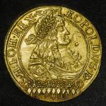 HOUSE OF HABSBURG Leopold I レオポルト1世(1657~1705) 10Ducats 1679NB  large part of decoration is still re