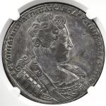 RUSSIA Empire 帝政ロシア Rouble 1733 NGC-AU55 トーン EF