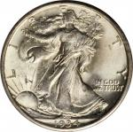 1934-D Walking Liberty Half Dollar. MS-64 (PCGS). OGH--First Generation.