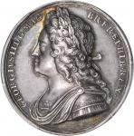 GREAT BRITAIN. George II Silver Coronation Medal, 1727. George II (1727-60). PCGS SP-55.