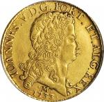 BRAZIL. 12800 Reis, 1733-M. Minas Gerais Mint. John V. PCGS Genuine--Cleaned, AU Details Gold Shield