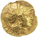 MACEDONIAN KINGDOM: Alexander III, the Great, 336-323 BC, AV stater 408。52g41, Price-172, early post