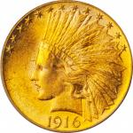 1916-S Indian Eagle. MS-63 (PCGS). OGH.
