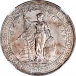 Great Britain, silver trade dollar, 1900, NGC AU58Please click on the following link to view rotatio